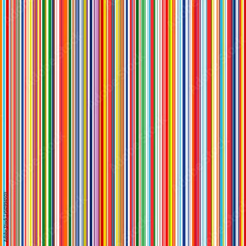 Abstract rainbow color stripes seamless vector background with lines stock image and royalty for Rainbow color stripe watch