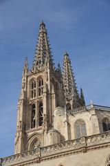 torre de la Catedral Gótica de Burgos