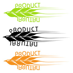 the set of emblems of natural products