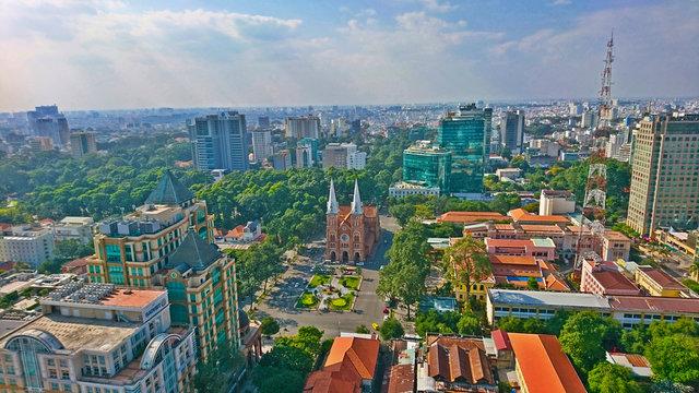 ホーチミン・サイゴン都市景観
