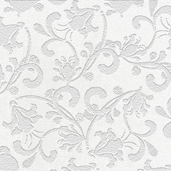 Stone engraving - stone background. Flora. Tile. Decorative element.