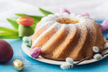 Delicious pound cake for Easter