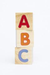 ABC Spelling toy blocks