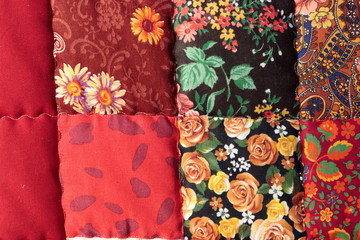The russian patchwork quilt