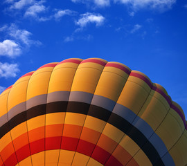 Wall Murals Sky sports Hot air balloon on blue sky