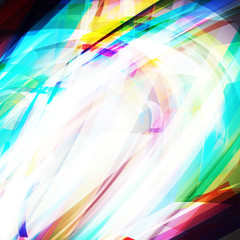 Vector illustration of bright abstract distorted background