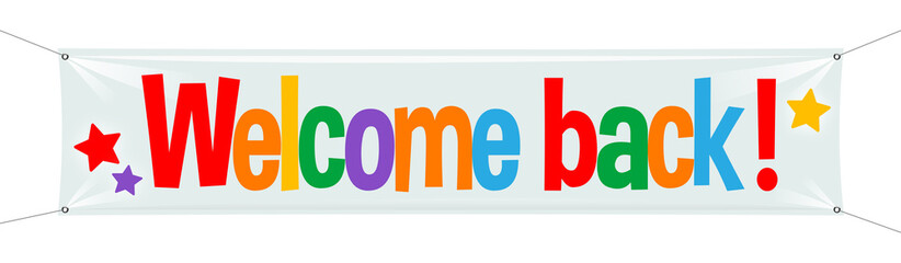 Image result for welcome back logo