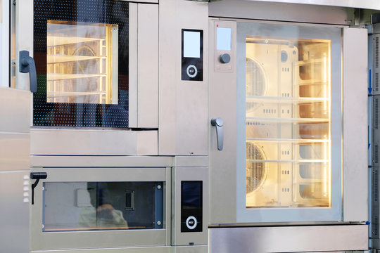 Bakery equipment close up