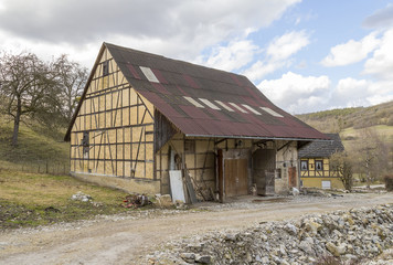 barn in Southern Germany