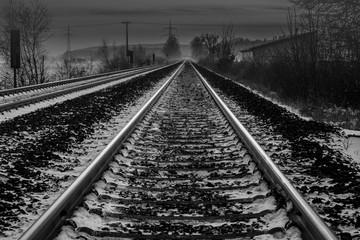 Schienenverlauf