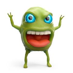 snot slime monster