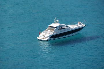 Sommertag auf dem Boot