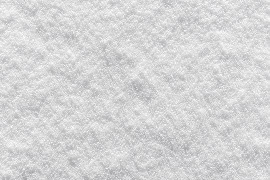 Textured crystalline snow background texture