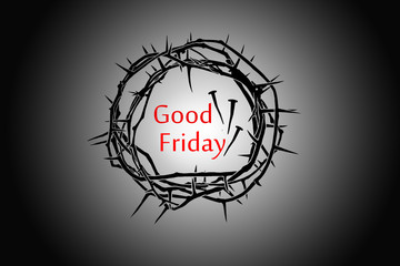 A crown made of real thorns is  for, Good Friday, Easter, Palm Sunday, or anytime!