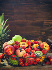 Fresh Healthy Organic Fruits