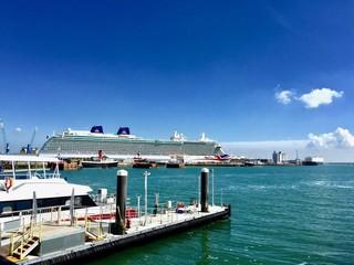 Big ship in Southampton