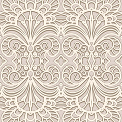 Vintage lace texture, seamless pattern