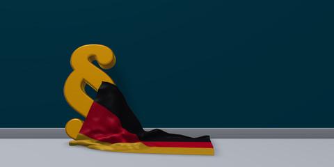 deutsches gesetz