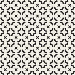 Seamless geometric pattern. Monochrome texture.