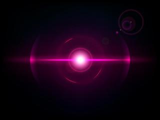 Magenta space explosion, cosmos burst