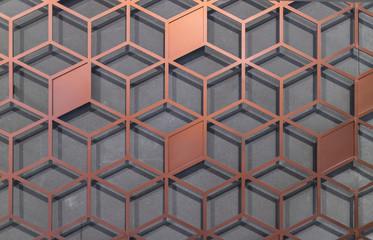 Wall background of lattice Seamless Pattern