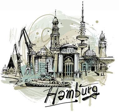 Hamburg Sketch