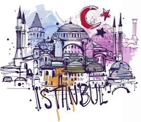 Istanbul Sketch