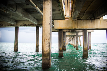 Under the Pier in Florida
