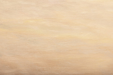 Abstract light brown oil paint background with brush strokes on canvas.