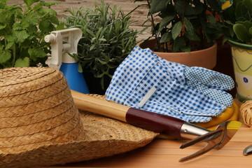 Gardening, Gartenarbeit