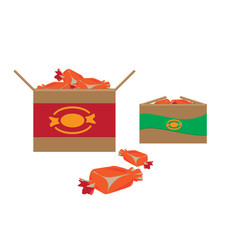 Orange Candies in Boxes