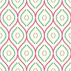 Seamless colorful ornament. Modern geometric pattern with repeating elements