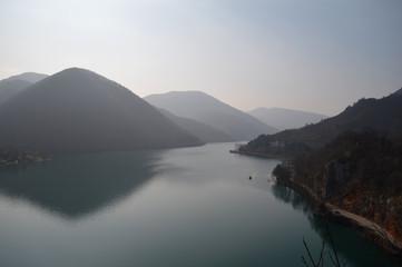 Lake landscape photography