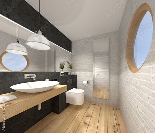 g ste wc kleines wc toilette photo libre de droits sur. Black Bedroom Furniture Sets. Home Design Ideas