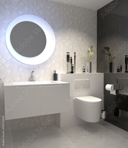 g ste wc toilette wc fliesen fliesendekor fliesenmosaik pic. Black Bedroom Furniture Sets. Home Design Ideas