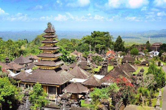 Pura Besakih temple Bali Indonesia