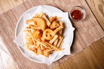mix French fries 감자튀김 안주