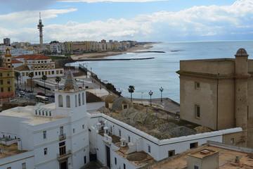 Altstadt Cadiz Spanien