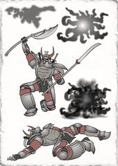 armor warrior design