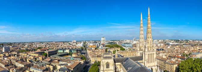 Fotomurales - Panoramic view of Bordeaux