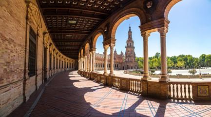 Spanish Square in Sevilla