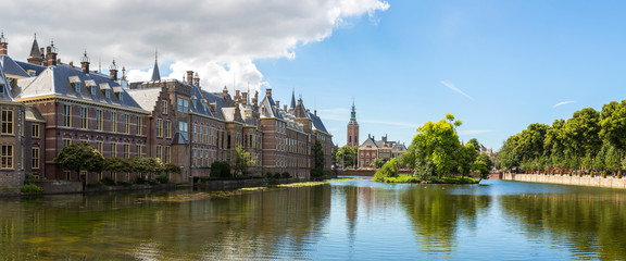 Binnenhof palace in Hague