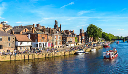 River Ouse in York, England, United Kingdom Wall mural