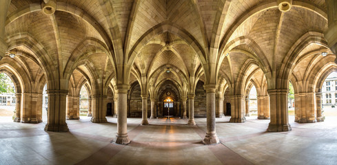University of Glasgow Cloisters, Scotland