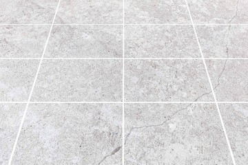 Outdoor stone block tile floor background and texture pattern