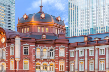 Tokyo Station , A railway station in the Marunouchi business district of Chiyoda , Tokyo , Japan. Tokyo Station is the main intercity rail terminal in Tokyo and busiest station in Japan