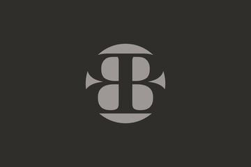 Luxurious Brand Letter B Logo