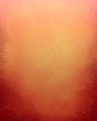 autumn background design, warm orange color with red grunge on bottom border, elegant thanksgiving background design