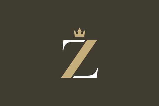 Luxurious Brand Letter Z Logo