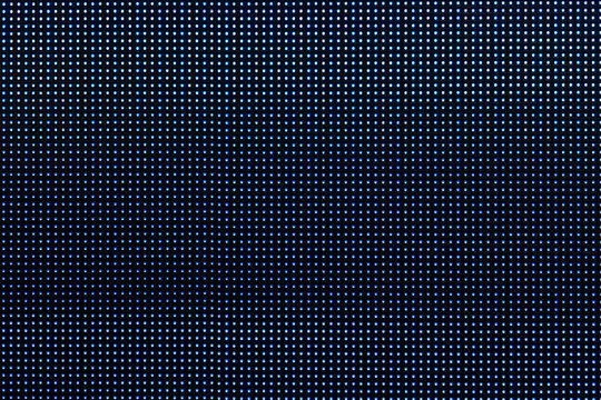 Close-up LED diode from LED TV screen or monitor display panel for background